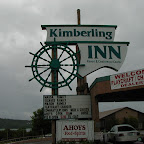 Sign on Kimberling Inn 2001