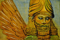 Sumerian Anunnaki Flying Gods