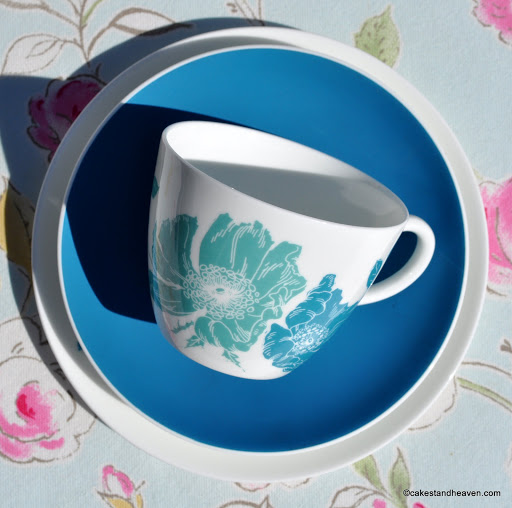 Teacup, saucer and tea plate by Wedgwood