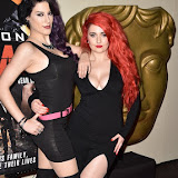 OIC - ENTSIMAGES.COM - Jasz Vegas and Sarah Kawaii at the  Kill Kane - gala film screening & afterparty in London 21st January 2016 Photo Mobis Photos/OIC 0203 174 1069