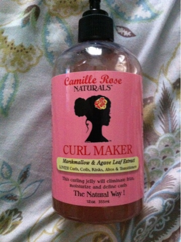 Embracing My KinkyCoilyCurly Hair: Camille Rose Naturals Curl Maker