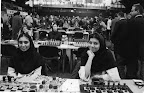 Iranian women's chess team, Slovenia, 2002