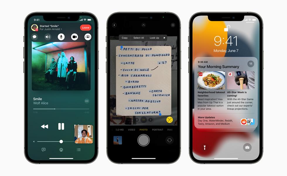 Le novità di iOS 15, il nuovo software per iPhone