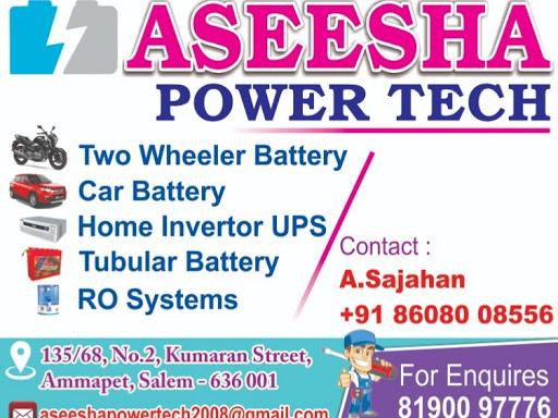 ASEESHA POWER TECH - Battery Store in SALEM