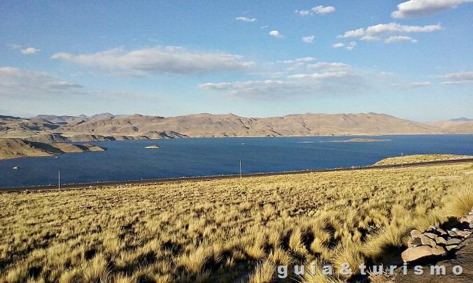 Paisagem entre Chivay e Puno