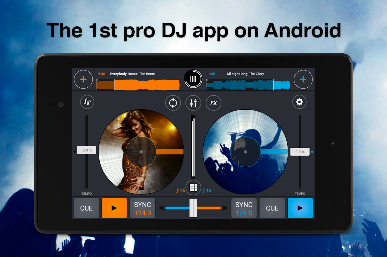 Cross DJ Free - Mix your music- screenshot