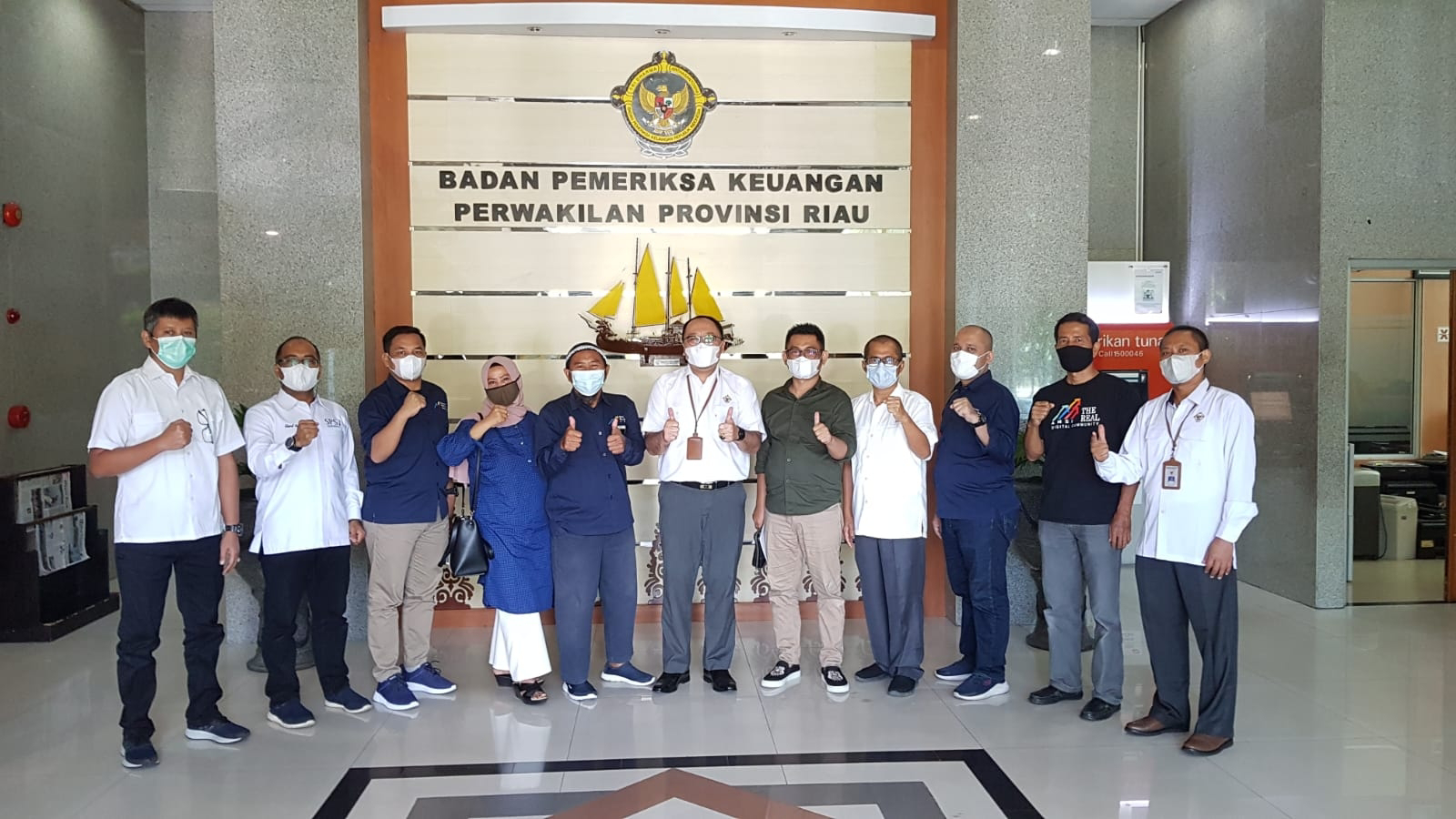 Dikunjungi 3 APP, BPK Perwakilan Provinsi Riau Sebut Pergubri Bisa jadi Kriteria Audit Anggaran Publikasi