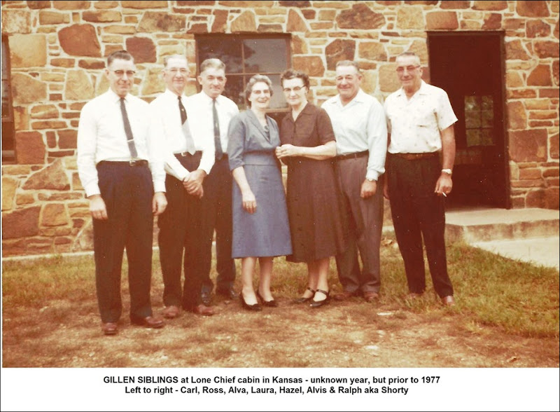 GILLEN group_Carl-Ross-Alva-Laura-Hazel-Alvis-Shorty at Lone Chief cabin_Kansas_annotated