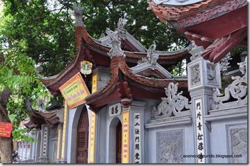 Hanoi. Hoe Nhai Pagoda en el Barrio Viejo