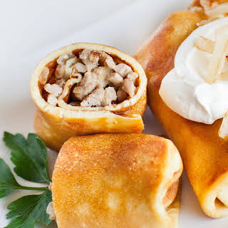 Meat and Onion Blini – Savory Crepes.