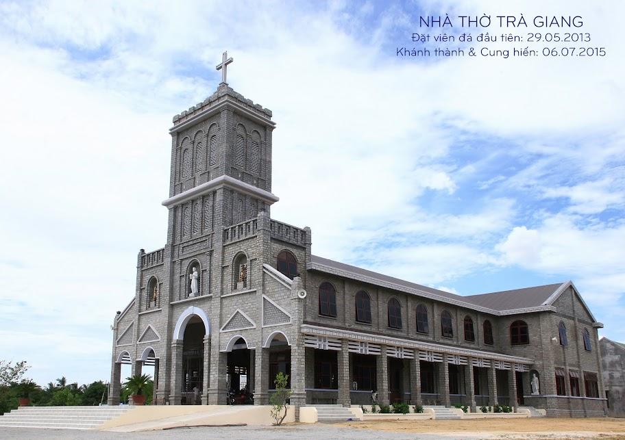Thánh lễ khánh thành và cung hiến nhà thờ Trà Giang - Giáo hạt Ninh Sơn