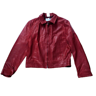 Dolce & Gabbana Red Leather Jacket