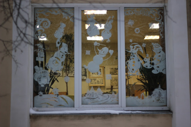О жизни: Морозные узоры на окнах!(фоторепортаж)