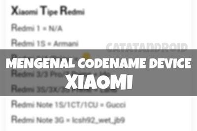 Mengenal Beberapa Codename Dari Ponsel-Ponsel Keluaran Xiaomi