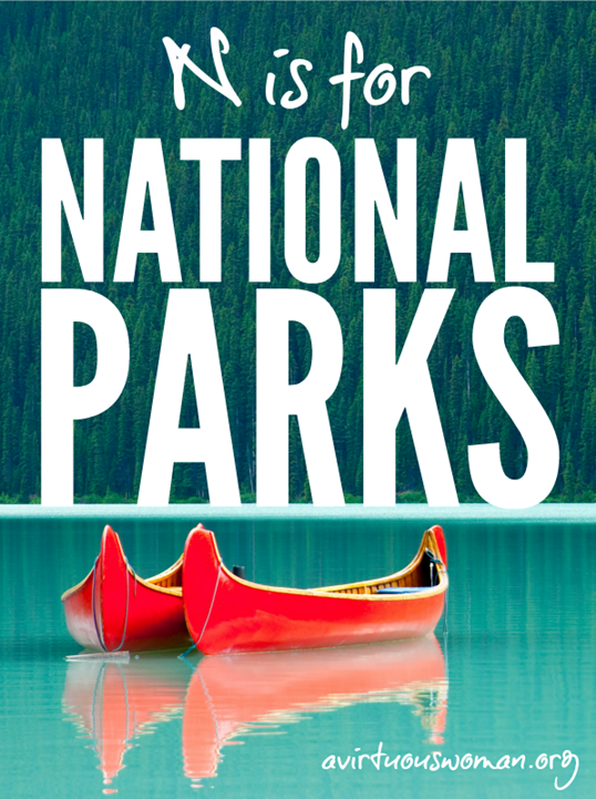 N-is-for-National-Parks