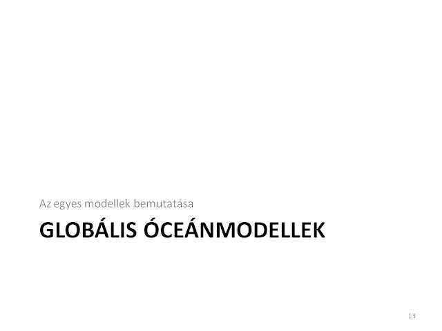 Globális modellek