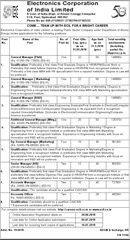 ECIL Advertisement 2018 www.indgovtjobs.in