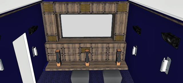 Rudell Theater Room Screen