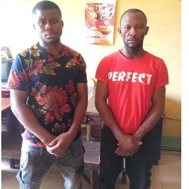 Robbers at Redemption Camp arrested for stealing 7 cars