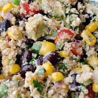Mexican Cauliflower Couscous Salad