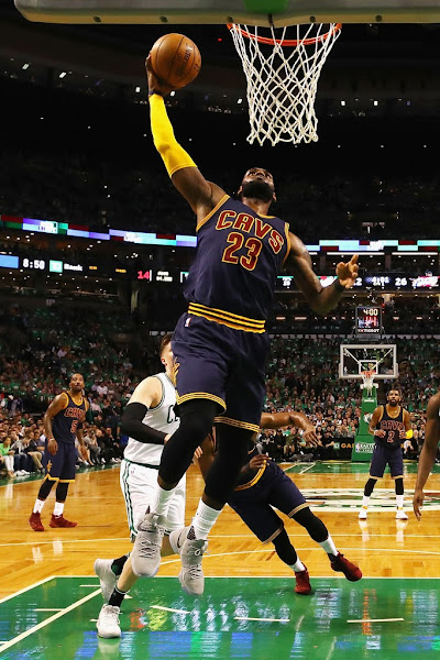 LeBron Surpases Jordan Entering 7th Straight NBA Finals Appearance