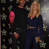 OIC - ENTSIMAGES.COM - Tony Sinclair and Shanie Ryan at the  Sicario - JF London shoe launch  in London 21st September 2015 Photo Mobis Photos/OIC 0203 174 1069