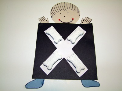 Craft Ideas Letters on For Preschoolers Click On The Boy S Xray For Letter X Craft Ideas