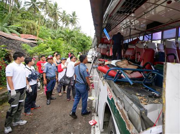 Camarines Sur bus crash