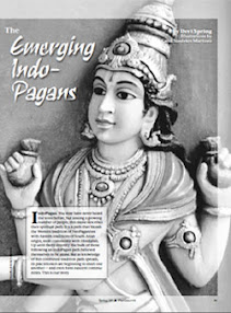 Cover of Devi Spring's Book The Emerging Indo Pagans