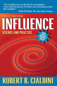 Cover of Robert Cialdini's Book Influence Science And Practice 4th Edition