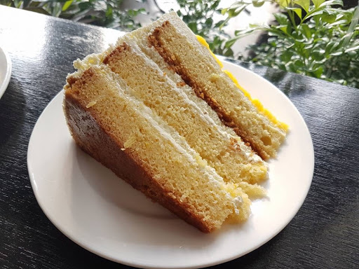 A slice of lemon cake from China House in Georgetown Penang