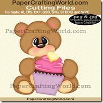 bear w cupcake v3 ppr cfb-200