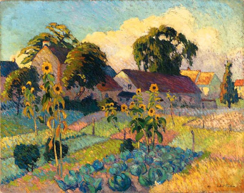 Robert Antoine Pinchon - Garden Near Rouen
