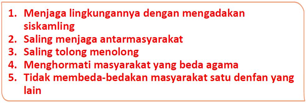 Kunci Jawaban Halaman 28, 30, 31, 32, 33 Tema 4 Kelas 5
