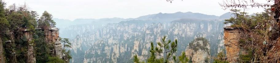Panorámica desde Tiantai