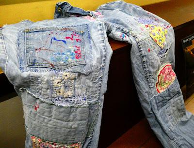 Real life Boro - Jacqui's jeans