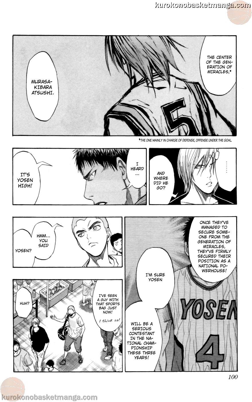 Kuroko no Basket Manga Chapter 75 - Image 14