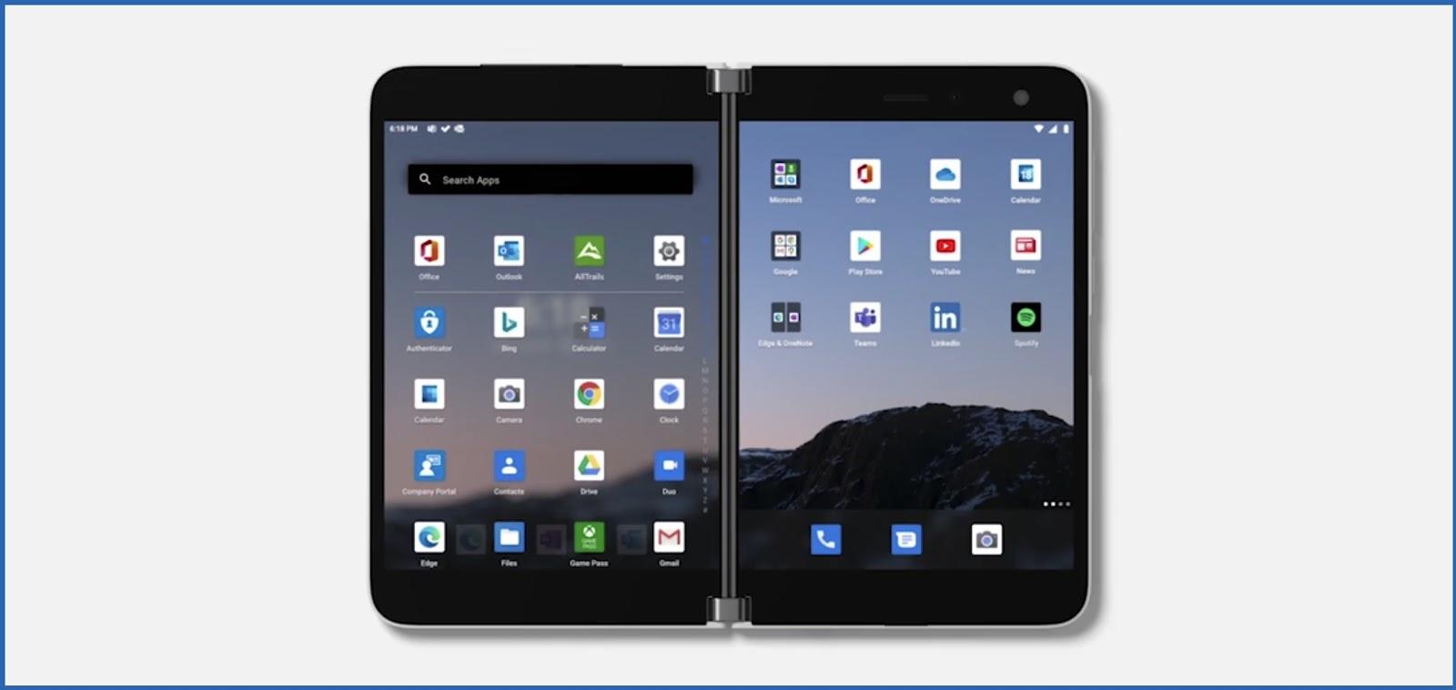Surface Duo แอนดรอยด์ตัวแรกจาก Microsoft เพื่ออนาคตของแอนดรอยด์