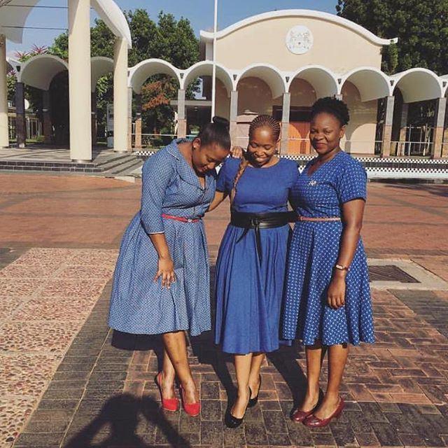 Trendy Shweshwe Dresses Styles For Woman 2019 2