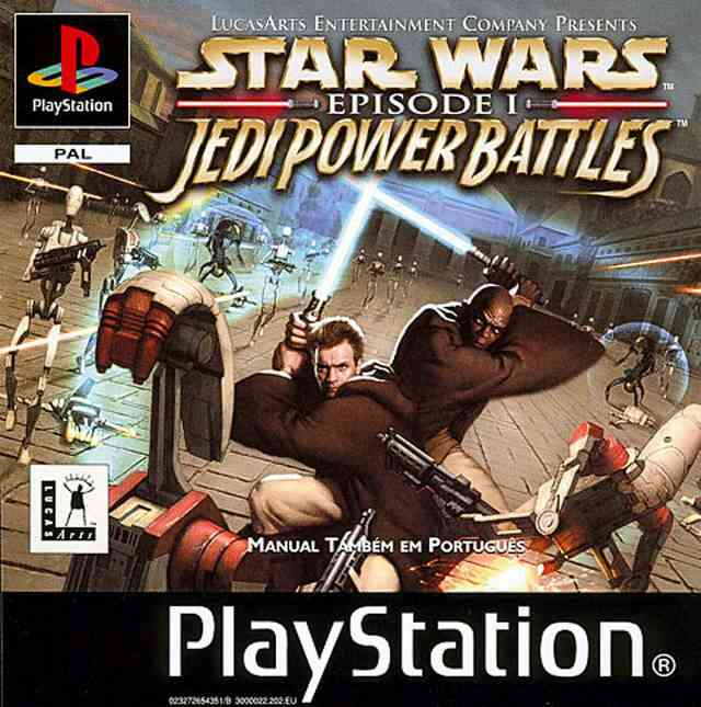 Star Wars - Jedi Power Battles PS1 Cover