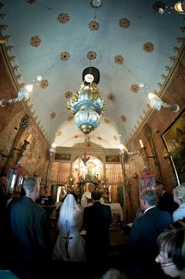 Kapelle Maria Loretto Hochzeit innen