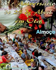 42.º Aniv. 25 ABR - 2016 - Almoco