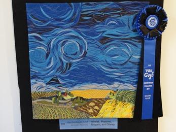 2018.09.30-049 exposition patchwork Van Gogh 2ème place