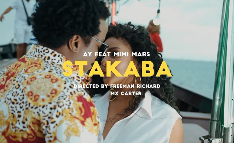 VIDEO | AY Ft. Mimi Mars - Stakaba | Mp4 Download