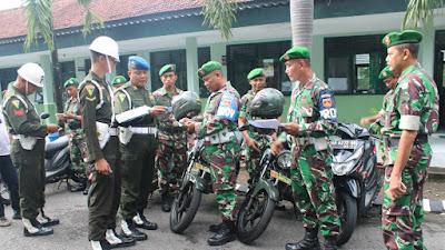 Operasi Waspada Wira Keris, Kendaraan Kodim Bantul Diperiksa Polisi Militer