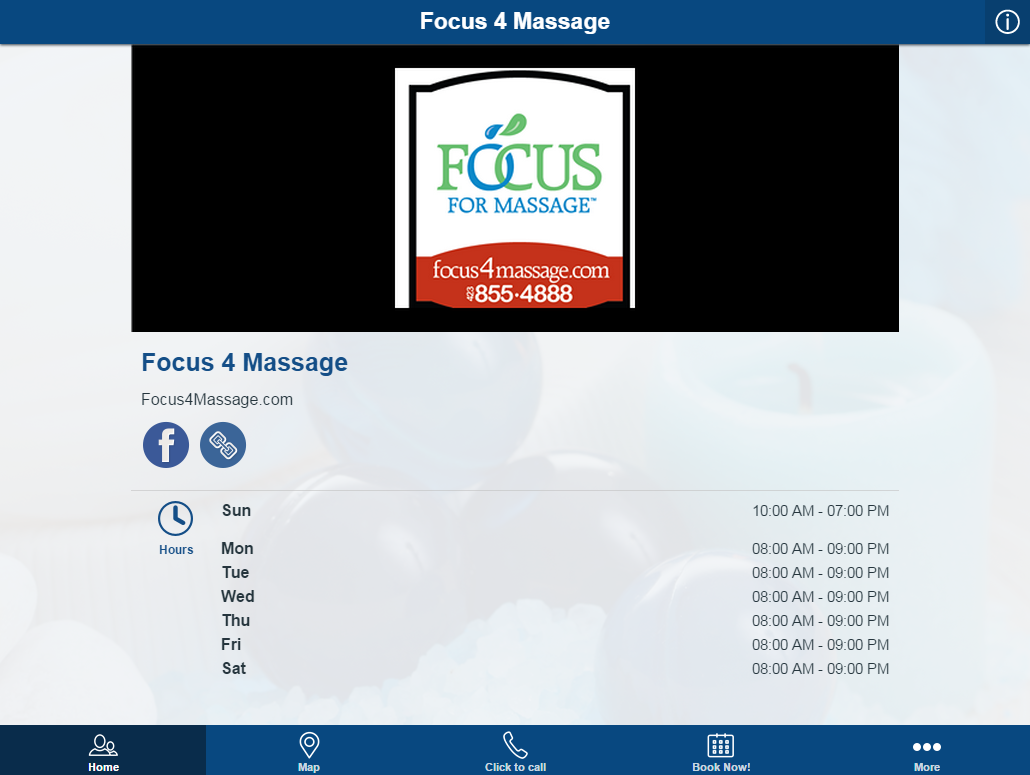 Focus 4 Massage- screenshot
