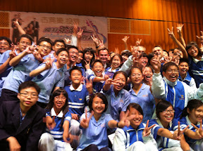 MozART group Taiwan tour 2011 with fans