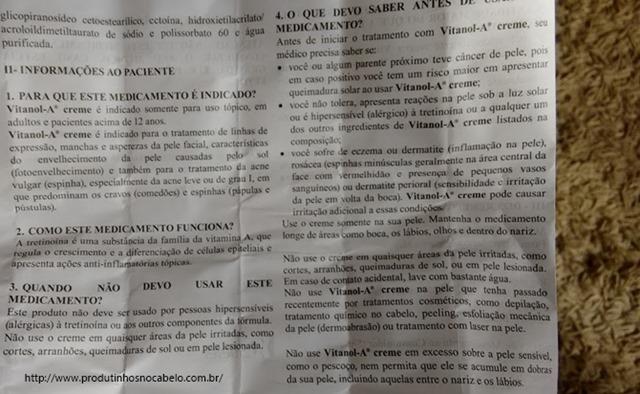 Vitanol-A 0,5 - bula