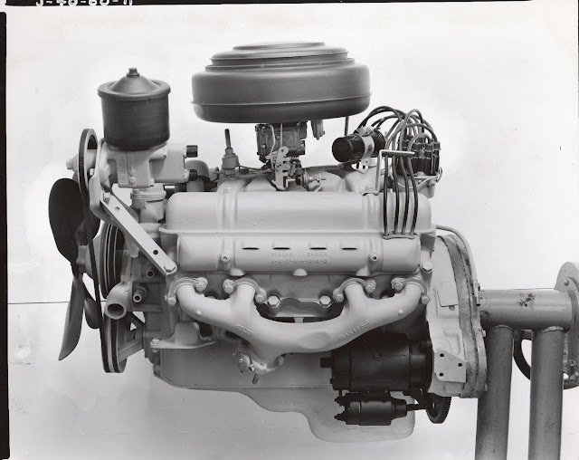 Factory Buick pix of a 54-55 264 engine.