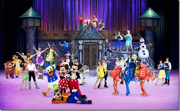 Disney On Ice Pasaporte a la Aventura 2016